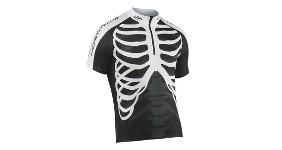 Northwave Skeleton Jersey SS Men black-white